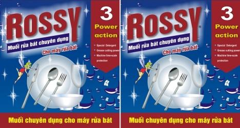 muối rửa bát rossy chính hãng chuyên dùng cho máy rửa bát