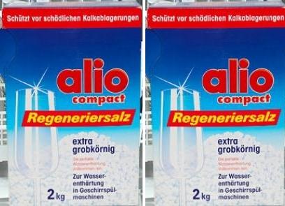 Muối chuyên dụng Alio mềm mịn làm giảm độ cứng của nước
