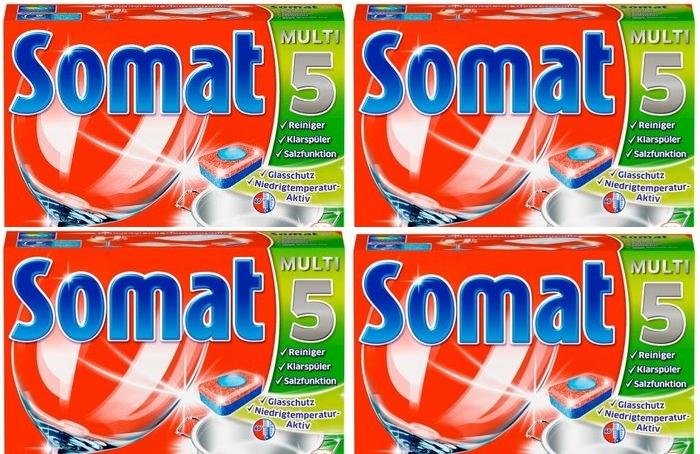 Bán viên rửa bát chuyên dụng Somat dạng viên nén