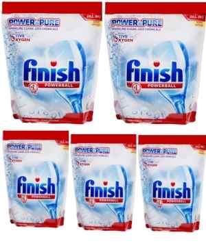 Finish rửa bát dạng bột mềm mịn dễ hòa tan mới