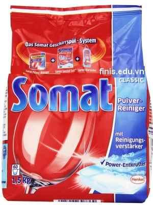 bột rửa bát somat 1.5kg nhập khẩu đức