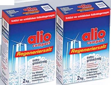 Muối chuyên dụng alio cho hiệu quả tuyệt đối với máy rửa chén nhập khẩu