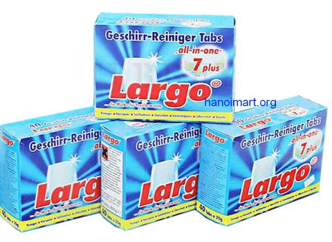 Viên rửa chén Largo 7 in 1, lựa chọn số một, lựa chọn thông minh