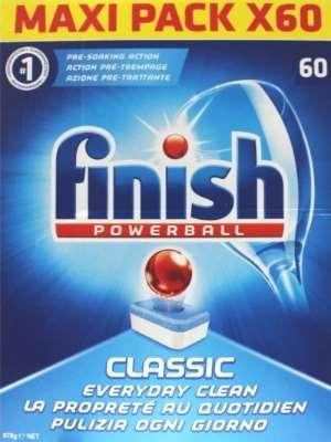viên rửa bát finish maxi pack 60 viên