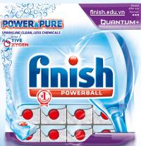 viên rửa bát finish quantum nhập khẩu chính hãng