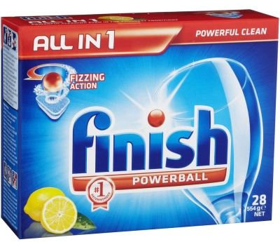 viên rửa bát chén finish 28 viên chuyên dụng dành cho máy rửa bát
