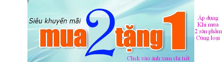 chuong trinh khuyen mai dac biet mua 2 tang 1 tai hanoimart
