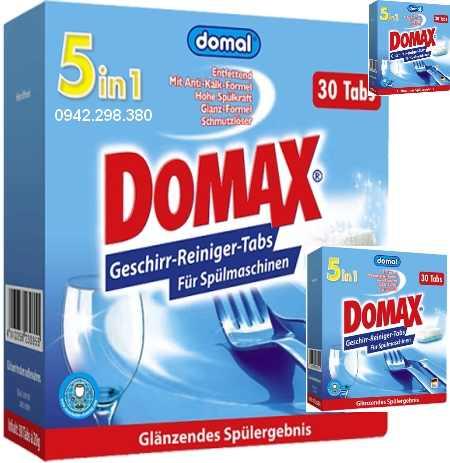 Giới thiệu bộ sản phẩm rửa bát domax tổng hợp dành cho máy rửa bát nhỏ và vừa