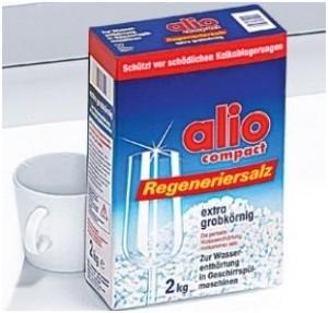 Muối rửa chén Alio mang lại sự an toàn tuyệt đối cho người tiêu dùng