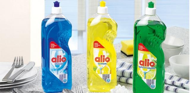 Nước rửa bát làm bóng alio hiệu quả trong tẩy rửa và khử mùi tanh trên bát đĩa