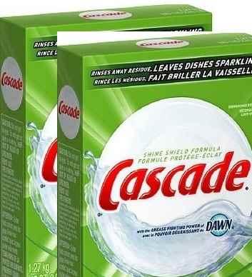 bột rửa bát casscade 2,54kg nhập khẩu mỹ