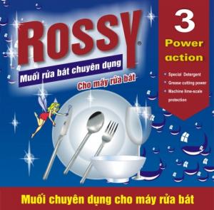Muối rửa bát rossy 2.4kg chuyên dùng cho máy rửa bát