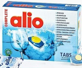 viên rửa bát alio complete 40 tabs chuyên dùng cho máy rửa bát