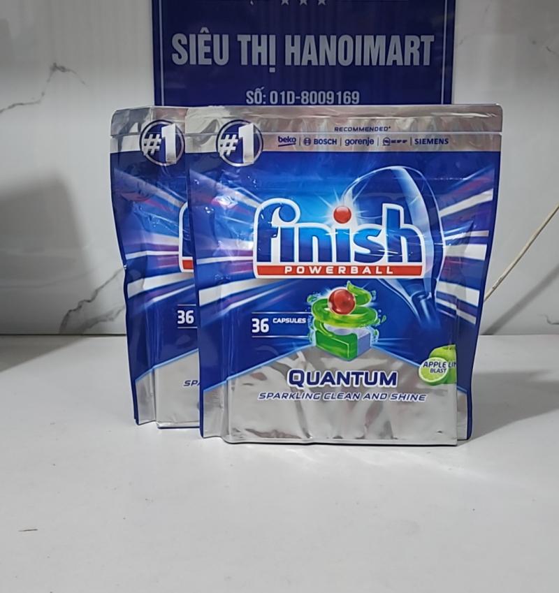 viên rửa bát finish quantum 72 tabs ( 72 viên )