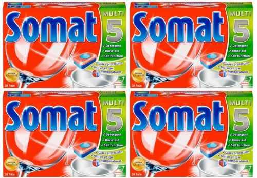 Somat tích hợp công nghệ rửa chén siêu vượt trội cho chén đĩa sáng bóng