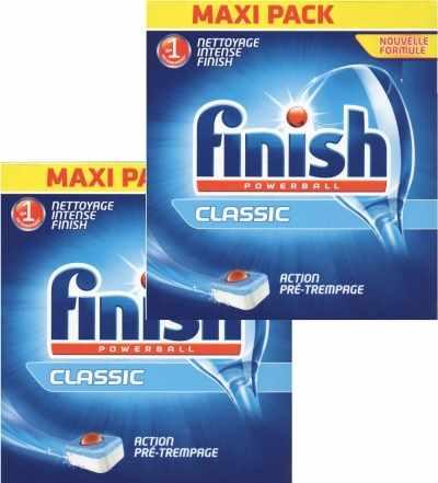 viên rửa bát finish 120 tabs chuyên dùng cho máy rửa bát