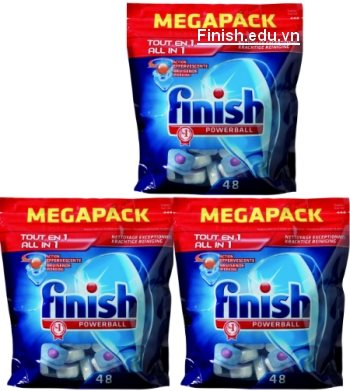 viên rửa bát finish all in 1 megapack nettovage exceptionnel kprachtige reiniging
