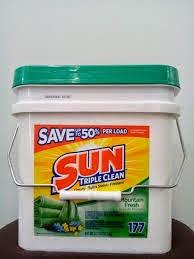Chuyên sỉ lẻ sản phẩm rửa chén Sun trên toàn quốc