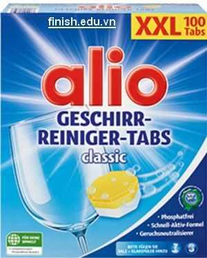 viên rửa bát alio 3 in 1 nhập khẩu đức