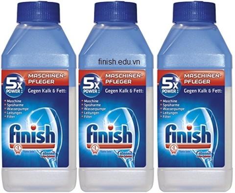 dung dịch nước tẩy cặn canxi finish dùng cho bình thủy điện, cây nước nóng lạnh, ấm đun nước, bình nóng lạnh, máy rửa bát