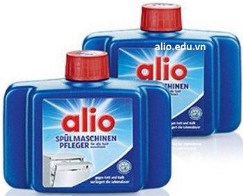 dung dịch nước vệ sinh máy rửa bát chén Alio khử cặn canxi, cặn dầu mỡ, gỉ sét