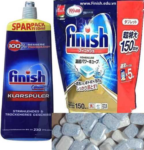 vien-rua-chen-finish-nhat-ban-150-tabs-japan-ket-hop-nuoc-rua-bat-finish-lam-bong-1150-ml-nk-duc-germany