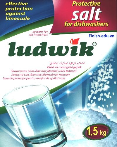 muối rửa bát ludwik made in Poland 1.5kg