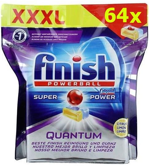 viên rửa bát finish quantum 64 viên nhập khẩu từ châu âu